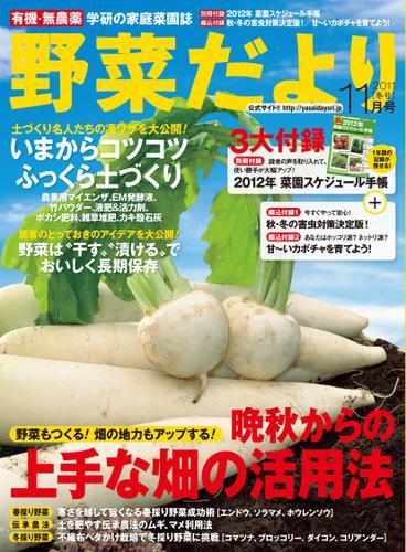 野菜だより (2011年11月号) / ブティック社編集部