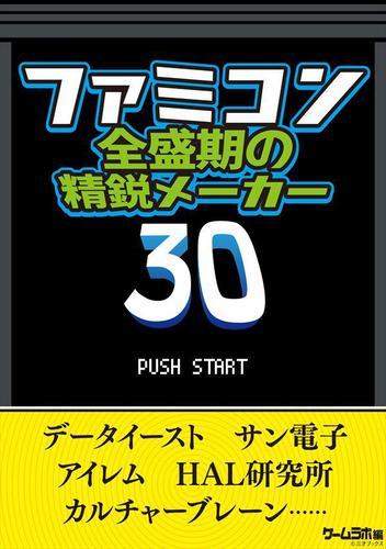 ファミコン全盛期の精鋭メーカー30 / 三才ブックス