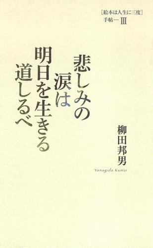 悲しみの涙は明日を生きる道しるべ [絵本は人生に三度]手帖III / 柳田邦男