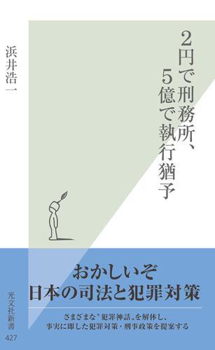 2円で刑務所、5億で執行猶予 / 浜井浩一