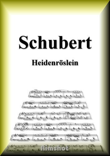 シューベルト 野ばら ピアノ・ソロ / Frantz Peter Schubert