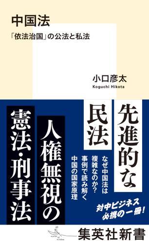 中国法 「依法治国」の公法と私法 / 小口彦太