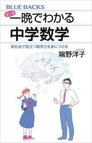 マンガ 一晩でわかる中学数学 実社会で役立つ数学力を身につける / 端野洋子