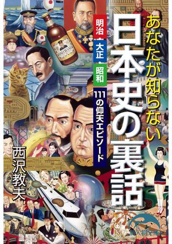 あなたが知らない日本史の裏話 / 西沢教夫