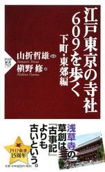 江戸東京の寺社609を歩く 下町・東郊編 / 山折哲雄